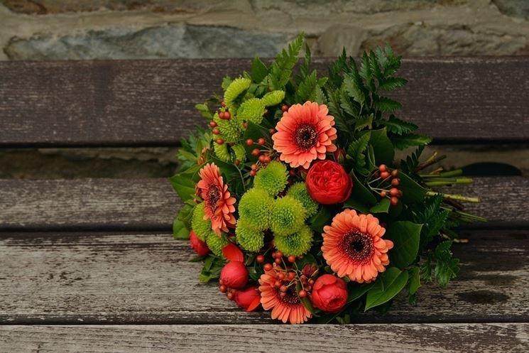 Il tipo di fiori del bouquet