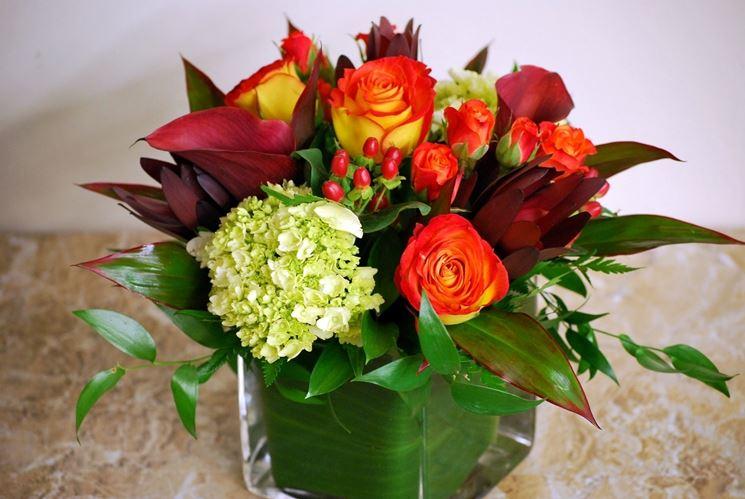 Composizioni e bouquet per decorare gli ambienti<p />