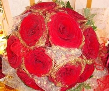 bouquet per ringraziare