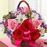consegna fiori per nascita