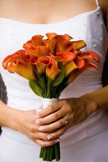 bouquet arancio