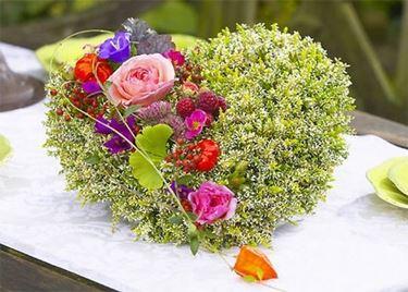 Composizioni di fiori finti