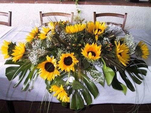 Composizioni Con Girasoli Matrimonio : Composizioni floreali regalare fiori