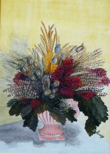 Cosa preparare per realizzare un quadro con fiori secchi
