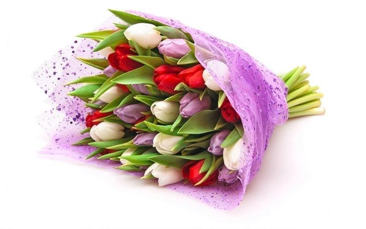 Comunicare con mazzi di fiori