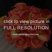 bouquet di rose arancioni