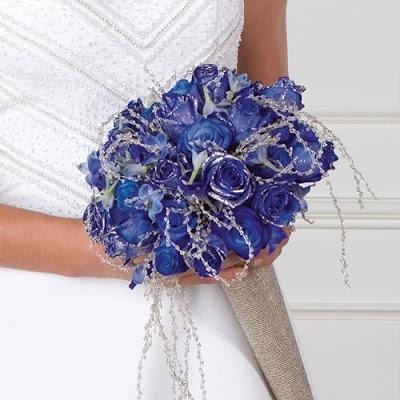 Bouquet Sposa Rose Blu.Bouquet Sposa Con Rose Blu Rose Bouquet Sposa Con Rose Blu