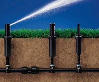 Impianto irrigazione interrato