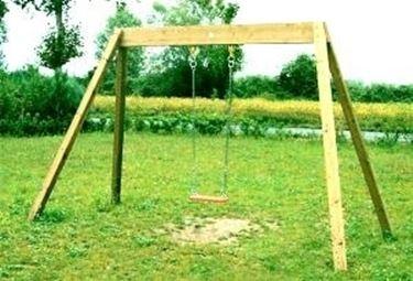 giochi da giardino : Dove trovare altalene in legno