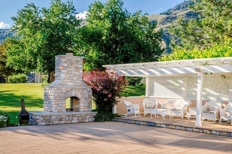 Scegliere dove costruire un barbecue in muratura