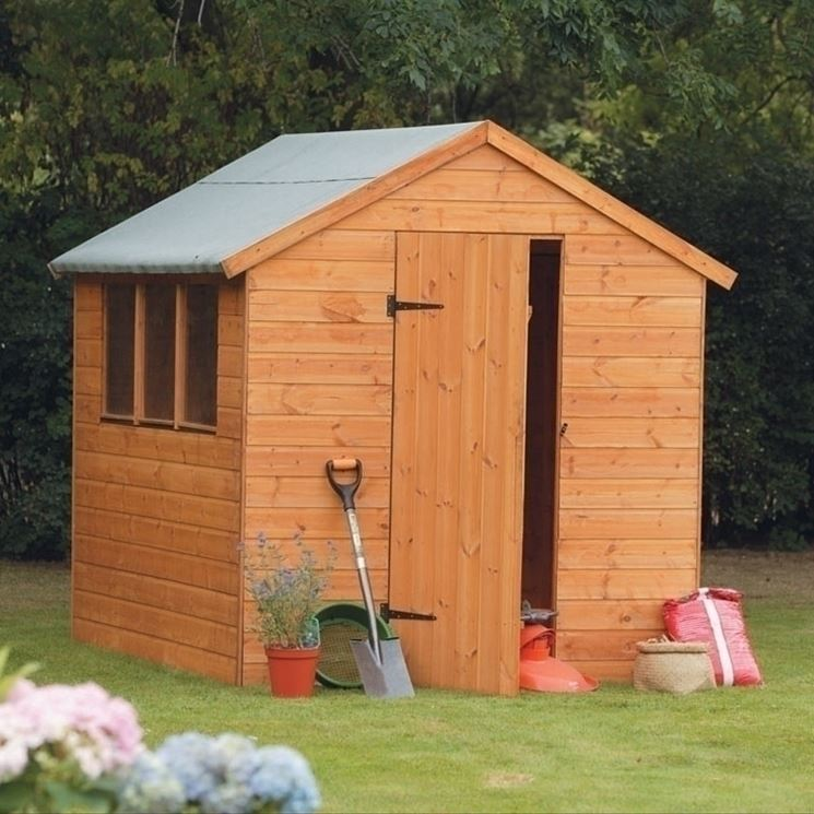 Che belle le casette in legno da giardino!