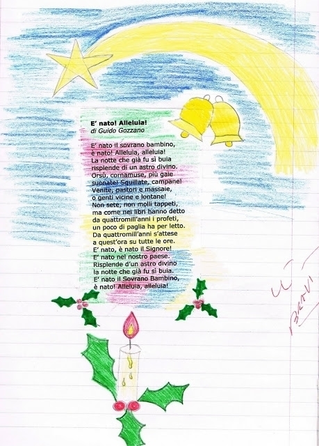 Poesie Di Natale 5 Anni.Auguri Di Natale Nonna