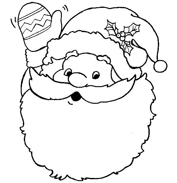 Colorare Babbo Natale 19 Babbo Natale Colorare Babbo Natale 19