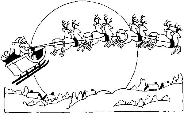 Slitta Babbo Natale 8 Babbo Natale Slitta Babbo Natale 8