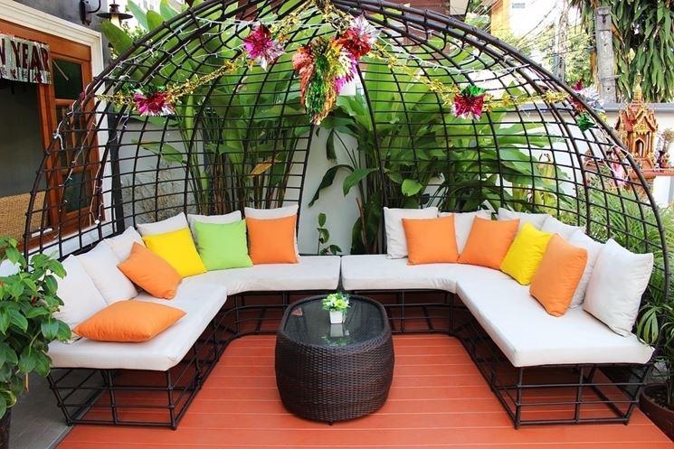 Scegliere grigliati per terrazzi arredamento per giardino